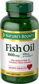 Buy Odorless Fish Oil Omega-3 1000 mg 220 Coated sGels Nature's Bounty Online, UK Delivery, EFA Omega EPA DHA