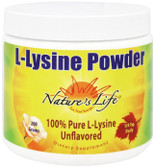 Buy L-Lysine Powder Unflavored 200 g Nature's Life Online, UK Delivery, Amino Acid