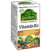 Buy Source of Life Garden Vitamin K2 60 Veggie Caps Nature's Plus Online, UK Delivery, Vitamin K Vegan Vegetarian