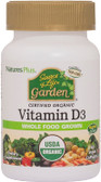 Buy Source of Life Garden Vitamin D3 60 Veggie Caps Nature's Plus Online, UK Delivery, Vitamin A D