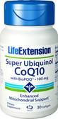 Life Extension Super Ubiquinol CoQ10 with BioPQQ 100 mg 30 Softgels, UK