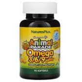Omega 3/6/9 Junior Lemon 90 sGels Nature's Plus, UK