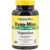 Buy Dyno-Mins Magnesium 250 mg 90 Acid-Resistant Tabs Nature's Plus Online, UK Delivery, Mineral Supplements