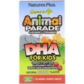 Buy Source of Life DHA for Kids Animal Parade Children's Chewable Natural Cherry Flavor 90 Animals Nature's Plus Online, UK Delivery, EFA Omega DHA