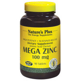 Buy Mega Zinc 100 mg 90 Tabs Nature's Plus Online, UK Delivery, Mineral Supplements