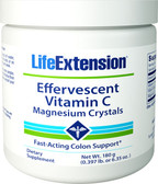 Life Extension Effervescent Vitamin C - Magnesium Crystals 180 g