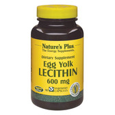 Buy Egg Yolk Lecithin 600 mg 90 Veggie Caps Nature's Plus Online, UK Delivery, Diet Weight Loss Lipotropic