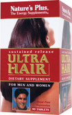 Buy Ultra Hair For Men and Women 90 Tabs Nature's Plus Online, UK Delivery, Women's Vitamins Supplements for Women