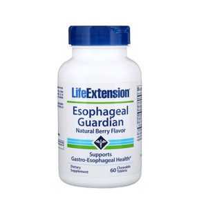 Buy UK Life Extension, Esophageal Guardian, 60 Chewable Tabs