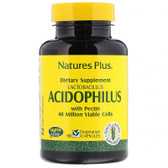 Buy Acidophilus Lactobacillus 90 Veggie Caps Nature's Plus Online, UK Delivery, Stabilized Probiotics
