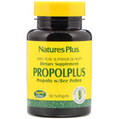 Buy Propolplus Propolis w/Bee Pollen 60 sGels Nature's Plus Online, UK Delivery, Bee Pollen