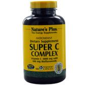 Buy Super C Complex 180 Veggie Caps Nature's Plus Online, UK Delivery, Vitamin C Bioflavonoids Rosehips
