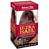 Buy Ultra Hair Sustained Release For Men & Women 120 Tabs Nature's Plus Online, UK Delivery, Men's Supplements Vitamins For Men Formulas