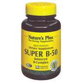 Buy Super B-50 180 Veggie Caps Nature's Plus Online, UK Delivery, Vitamin B Complex