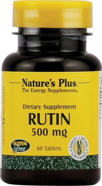 Buy Rutin 500 mg 60 Tabs Nature's Plus Online, UK Delivery, Antioxidant Vitamin C