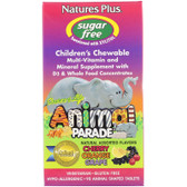 Buy Source of Life Animal Parade Children's Chewable Natural Assorted Flavors 90 Animals Nature's Plus Online, UK Delivery, Multivitamins For Children