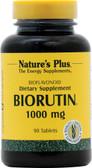 Buy Biorutin 1000 mg 90 Tabs Nature's Plus Online, UK Delivery, Antioxidant Vitamin C