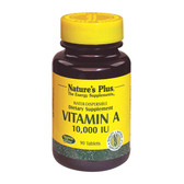 Buy Vitamin A 10 000 IU 90Tabs Nature's Plus Online, UK Delivery, Vitamin A D