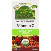 Buy Source of Life Garden Vitamin C 60 Veggie Caps Nature's Plus Online, UK Delivery, Vitamin C Vegan Vegetarian