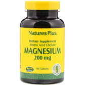 Buy Magnesium 200 mg 90 Tabs Nature's Plus Online, UK Delivery, Mineral Supplements