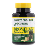 Buy Bromelain Supplement 1500 Ultra Maximum Potency 60 Tabs Nature's Plus Online, UK Delivery, Enzymes