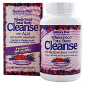 Buy Whole Food Total Body Cleanse with Acai 168 Veggie Caps Nature's Plus Online, UK Delivery