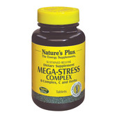 Buy Mega-Stress Complex 90 Tabs Nature's Plus Online, UK Delivery, Stress Relief Remedy Formulas Anti Stress Treatment