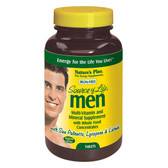 Buy Source of Life Men Multi-Vitamin and Mineral Supplement Iron-Free 120 Tabs Nature's Plus Online, UK Delivery, No Iron Multivitamins