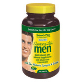 Buy Source of Life Men Multi-Vitamin and Mineral Supplement Iron-Free 60 Tabs Nature's Plus Online, UK Delivery, No Iron Multivitamins