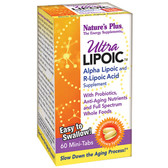 Buy Ultra Lipoic 60 Mini Tabs Nature's Plus Online, UK Delivery, Antioxidant ALA