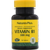 Buy Vitamin B-1 300 mg 90 Tabs Nature's Plus Online, UK Delivery, Vitamin B1 Thiamin Gluten Free