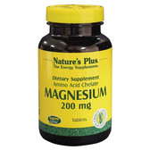 Buy Magnesium 200 mg 180 Tabs Nature's Plus Online, UK Delivery, Amino Acid