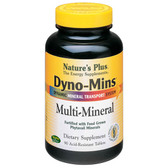 Buy Dyno-Mins Multi-Mineral 90 Acid-Resistant Tabs Nature's Plus Online, UK Delivery, Multi Minerals Gluten Free