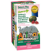 Children's Natural Watermelon, 180 Chewables, Animal Parade
