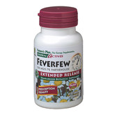Buy Herbal Actives Feverfew Extended Release 500 mg 60 Tabs Nature's Plus Online, UK Delivery, Herbal Remedy Natural Treatment Gluten Free