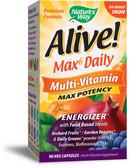Buy Alive! Multi-Vitamin No Added Iron 90 Vcaps Nature's Way Online, UK Delivery, Multivitamins