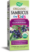 Organic Sambucus for Kids Elderberry Natural Syrup 120 ml