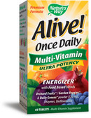 Buy Alive! Once Daily Multi-Vitamin 60 Tabs Nature's Way Online, UK Delivery, Multivitamins