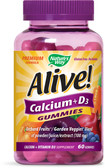 Buy Alive! Calcium 60 Gummies Nature's Way Online, UK Delivery, Mineral Supplements