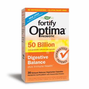 Buy UK Primadophilus Fortify Optima Digestive 50 Billion 30 Caps, Nature's Way, UK Delivery