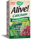 Buy Alive! Calcium Bone Formula 120 Tabs Nature's Way Online, UK Delivery, Bones Osteo Support Formulas
