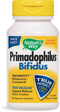Buy Primadophilus Bifidus For Adults 90 Vcaps Nature's Way Online, UK Delivery, Probiotics Bifidus