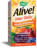 Buy Alive! Multi-Vitamin 90Tabs Nature's Way Online, UK Delivery,