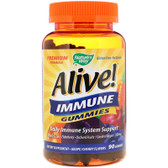 Buy UK Alive Vitamins Immune Gummies Fruit Flavors 90 Gummies Nature's Way Online, UK Delivery, Cold Flu Remedy Relief Immune Support Formulas