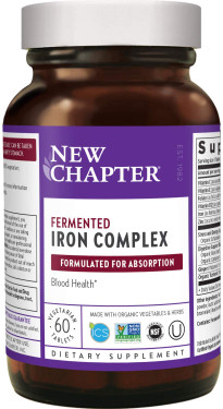 Buy Iron Food Complex 60 Tabs New Chapter Online, UK Delivery, Mineral Supplements