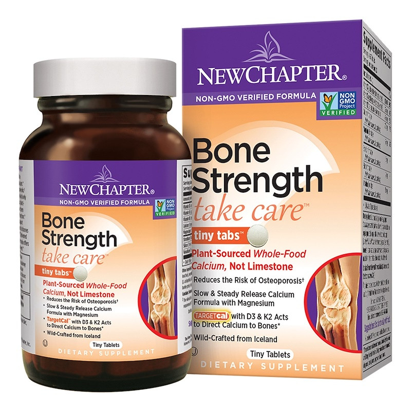 Buy New Chapter Take Care Bone Strength 240 Tiny Tabs Online, UK
