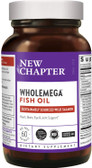 Buy Wholemega Wildly Pure Whole Fish Oil 1000 mg 60 sGels New Chapter Online, UK Delivery, EFA Omega EPA DHA