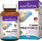 Buy Organics Lifeshield Mind Force 60 Vcaps New Chapter Online, UK Delivery, Attention Deficit Disorder ADD ADHD Brain Support