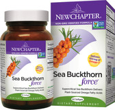 Buy Sea Buckthorn Force 60 sGels New Chapter Online, UK Delivery,