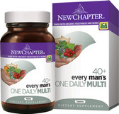 Buy 40+ Every Man's One Daily Multi 72 Tabs New Chapter Online, UK Delivery, Multivitamins For Men